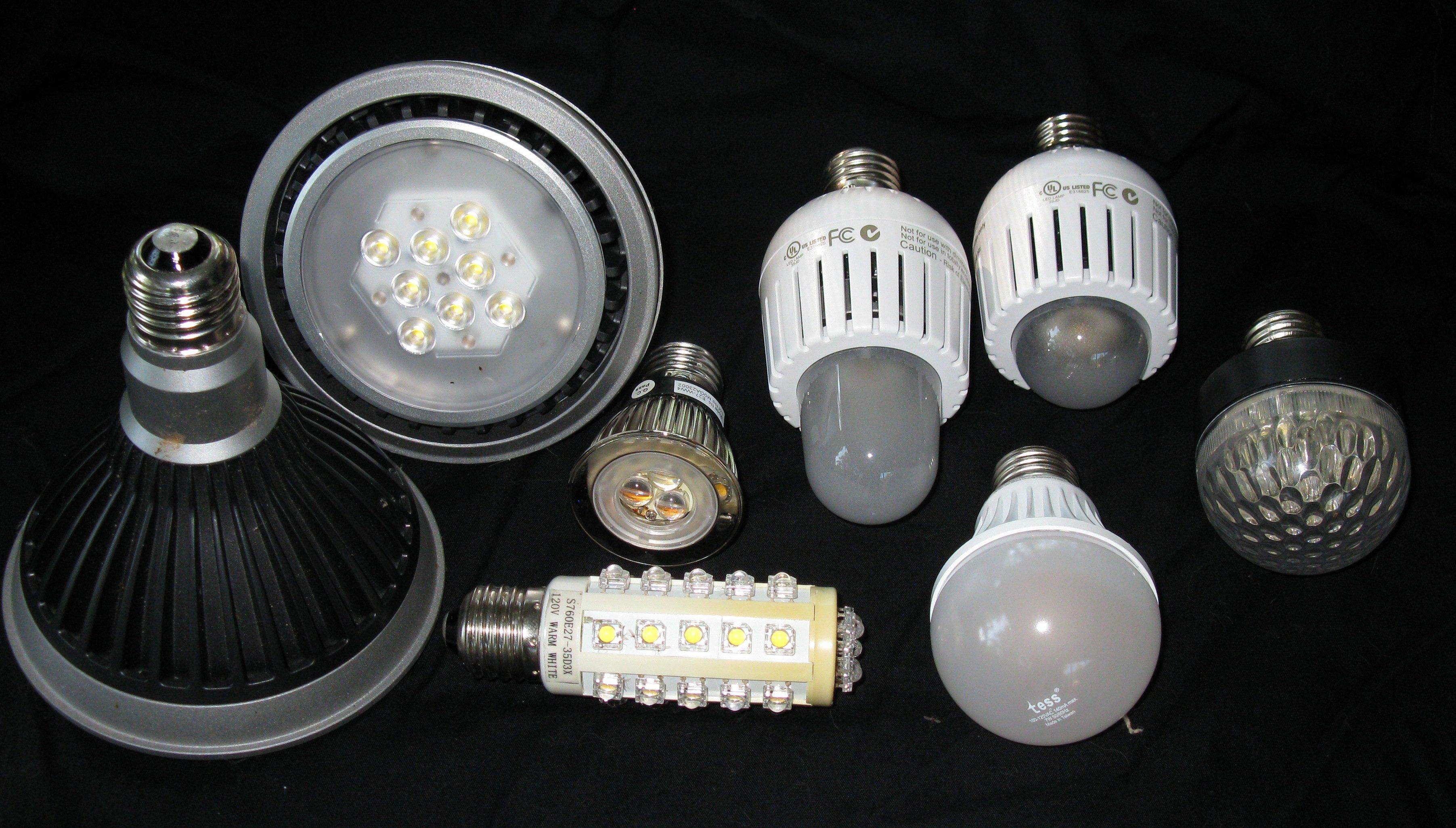 Lampade a led led luce e illuminazione