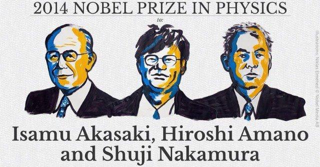 Il Nobel fisica agli inventori delle lampadine Led a basso consumo